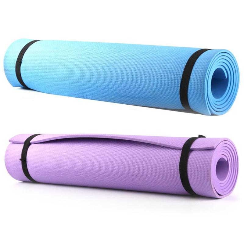 1830 610 6mm EVA Yoga Mat Non Slip Carpet Pilates Gym Sports Exercise Pads for Beginner
