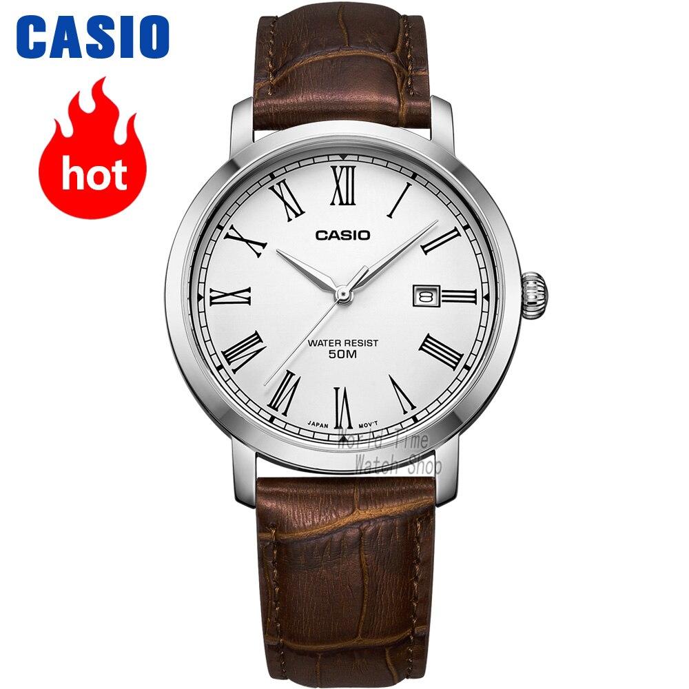 Casio watch Simple watch men top brand luxury set quartz watche 50m Waterproof men watch Sport military Watch relogio masculino-in Quartz Watches from Watches