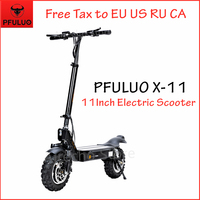 2019 New PFULUO X 11 Smart Electric Scooter 1000W Motor 11 inch 2 wheel Board hoverboard skateboard 50km/h Max Speed Off road