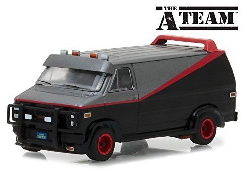 Green Light 1:64 1983 GMC VANDURA THE-A-TEAM alloy toy car toys for children diecast model car Birthday gift