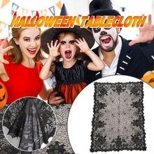Хэллоуин паук веб скатерть салфетки украшения на для домашнего