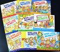 9 книг/набор  Пять маленьких обезьян  английская раскраска  книга с рисунками  детские книги для раннего образования  детские книги на англий...