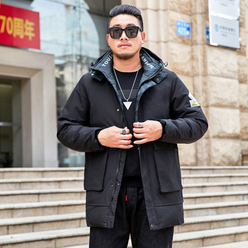 New Winter Long Parka Men Brand Clothing Thick Fashion Warm Jackets Coat Male High Quality Loose Parkas Oversized 8XL
