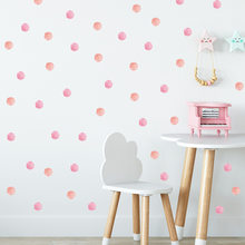 48pc Dot Wall Sticker For Kids Rooms Decoration Children Baby Nursery Wall Decals Colorful Dot Art Stickers Home Decor Wallpaper