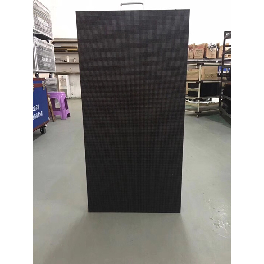 500x1000mm 128*256dots die cast aluminum cabinet P3.91 for indoor rgb led display screen advertising video wall panel rental