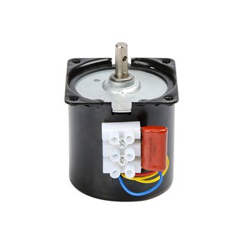 60KTYZ 220V Synchronous Motor 14W Permanent Magnet Motor Large Torque Low Speed Low Noise 100% Pure Copper Coil Motor low torque 200 w 12 v permanent magnet generator with controller