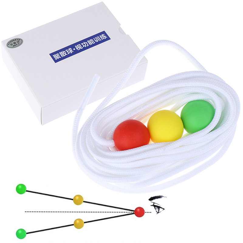 1Set Children Training Diameter String Vision Convergence Insufficiency Tool Eye Care Tools New
