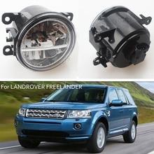 лучшая цена For LANDROVER FREELANDER 2 LR2 2006-2014 Car Styling CCC E2 3000-1WK LED Fog Lamps DRL Lights 1 Set