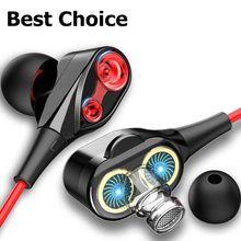 Olhveitra 3,5mm Verdrahtete Kopfhörer In Ohr Für Computer iPhone Android Headset Gamer Sport Dual Stick Bass Stereo-freisprecheinrichtung Mit mic