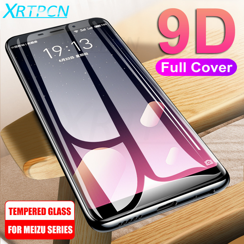 9D Tempered Glass On The For Meizu M8 M6 M6S M6T M5 M5S M5C M3S M3 M5 M6 Note Pro 7 Plus Screen Protector Glass Protective Film