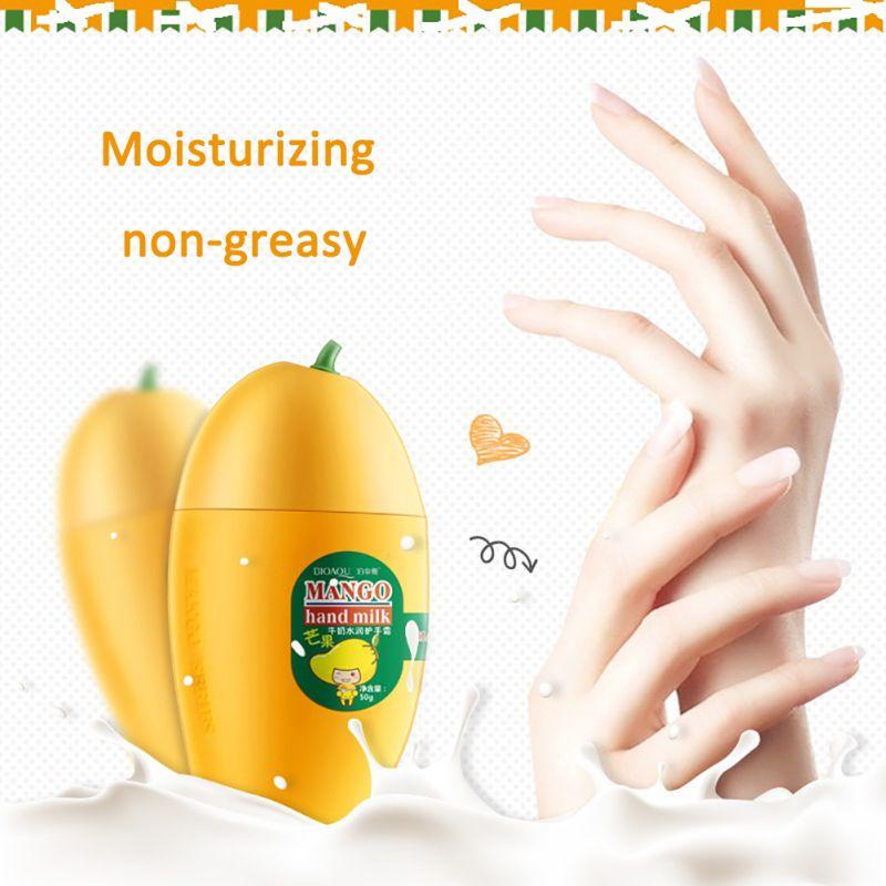 Hand Cream Maquiagem Peaches Mango Moisturizing Hydrating Winter Autumn Hand Care Nourishing Skin Beauty Hand Care