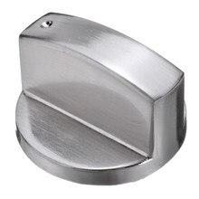 4 adet/takım 6mm/8mm Metal anahtarı kontrol düğmeleri ocak topuzlar tencere için yedek aksesuarlar mutfak ocak gaz soba fırın