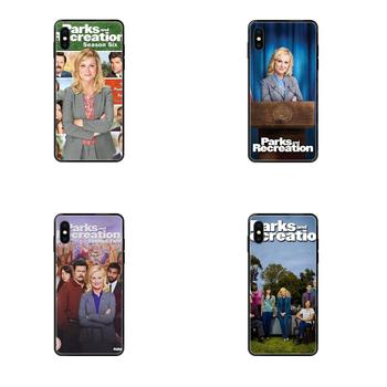 Tv Show Parks And Recreation Poster Soft TPU Case Capa Cover For Xiaomi Mi Note A1 A2 A3 5 5s 6 8 9 10 SE Lite Pro Ultra image