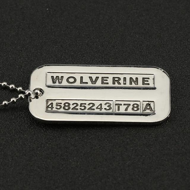 X-Men Origins Wolverine Logan ID Necklace Pendant 4