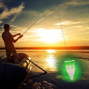 Image 5 - 5pcs 12cm 28g 빛나는 물고기 빛 수 중 방수 led 다채로운 램프 보트 낚시 물고기 빛 밤 낚시 도구를 수집