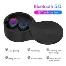 Bluetooth5.0 fone de ouvido sem fio à prova dwireless água esporte fones mini som estéreo música para huawei xiaomi iphone