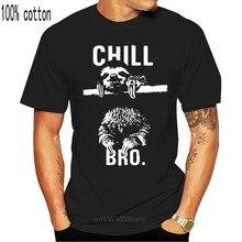 Cooles Nerd Herren T Shirt Mit Chill Bro. Faultier - M Nner Spruche Hemd Weiß T-shirt Herren Sommer