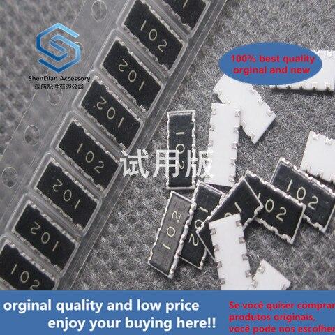 30pcs 100% Orignal New EXB-A10P102J Resistor Network Array Bus EXBA10P102J 1206 1K 10P8R