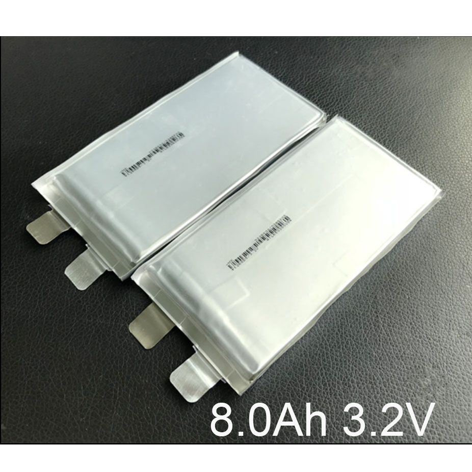 4-6PCS 3.2V LiFePO4 Rechargeable <font><b>Battery</b></font> 8000mah lithium ion polymer cell for <font><b>8Ah</b></font> 24V <font><b>12V</b></font> 36V e-bike UPS Power HID solar light image
