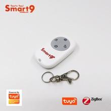 Smart9 ZigBee סוללה מרחוק בקר, עבודה עם TuYa ZigBee רכזת, SOS כפתור אזעקה, מופעל על ידי TuYa