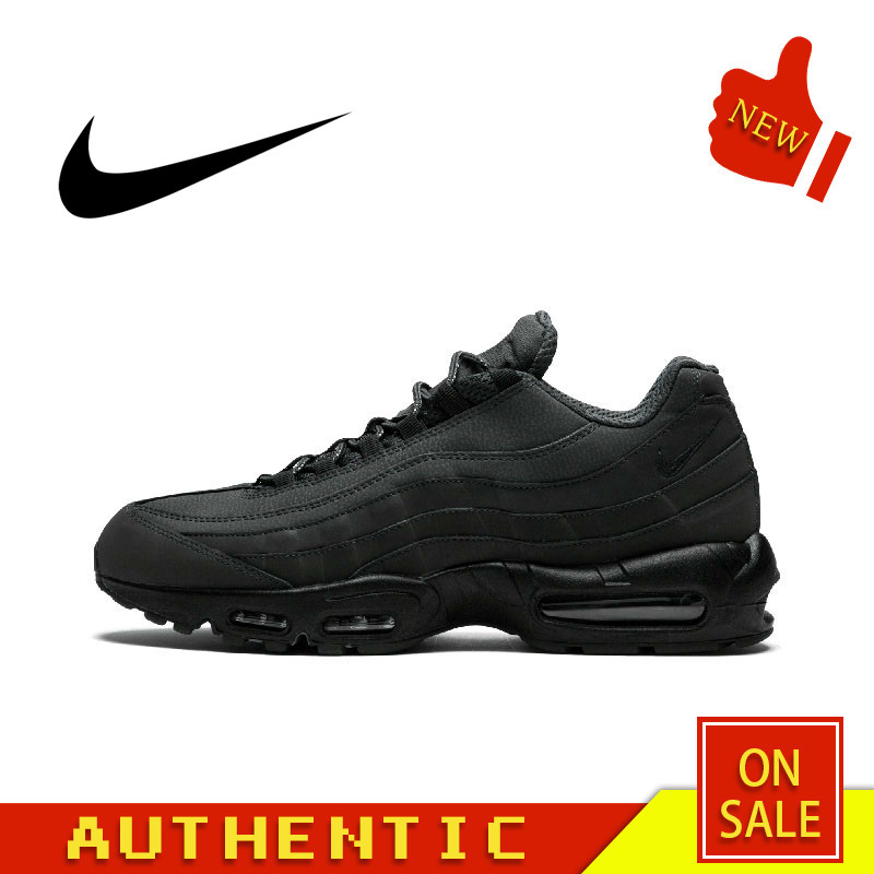 Original Authentic NIKE AIR MAX 95 ESSENTIAL Men's Running Shoes Fashion Breathable Outdoor Sports 2019 New 749766-009