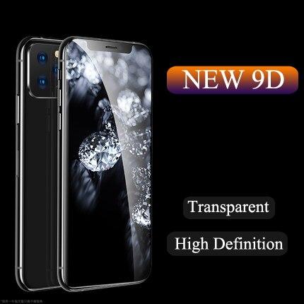 Vidrio Protector De Pantalla Para IPhone Max X XS XR vidrio Templado Para IPhone8 7 6S Vidrio Duro Transparente En IPhone11Pro