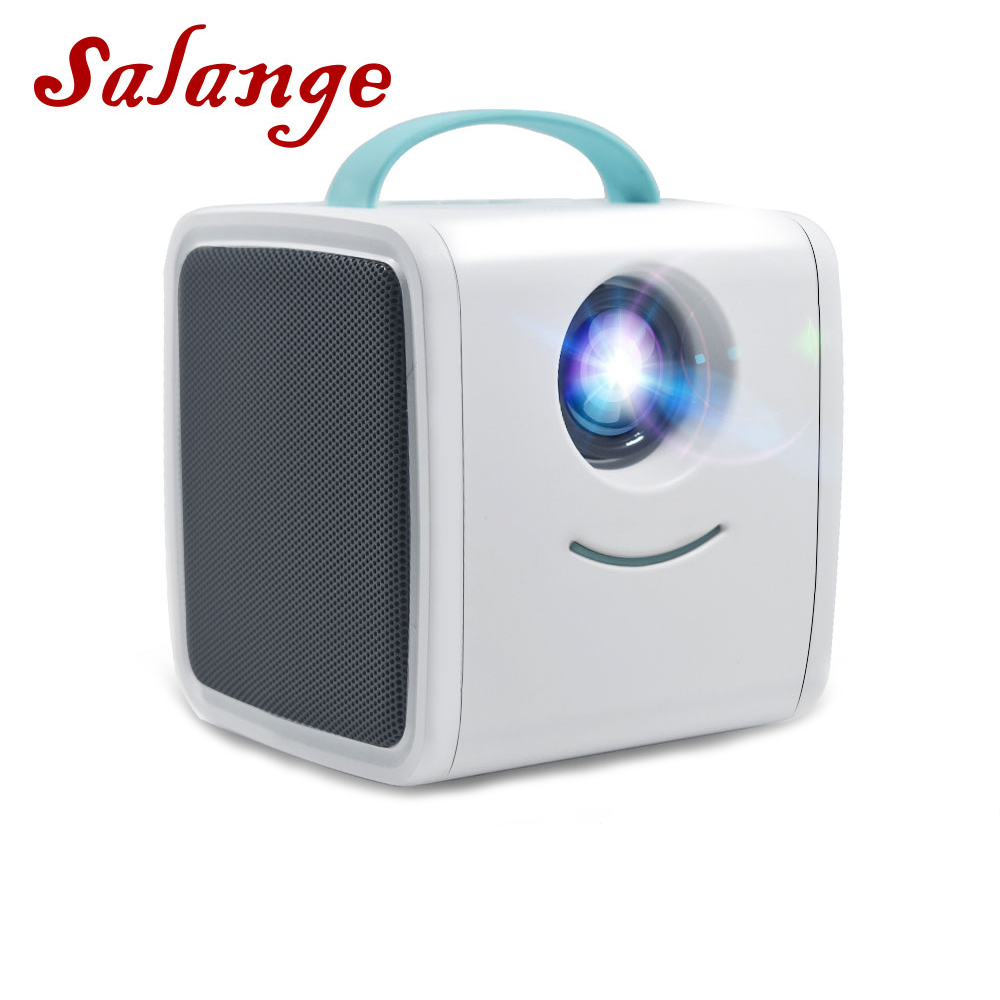 Salange Q2 Mini Projector,Children's Toy 700 Lumens Portable Projector Children Education Mini LED Home Theater For Christmas