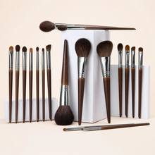 Ovw Natuurlijke Make-Up Kwasten Set Oogschaduw Make Up Brush Geitenhaar Kit Voor Make Nabor Kistey Mengen Pinceaux Maquillage