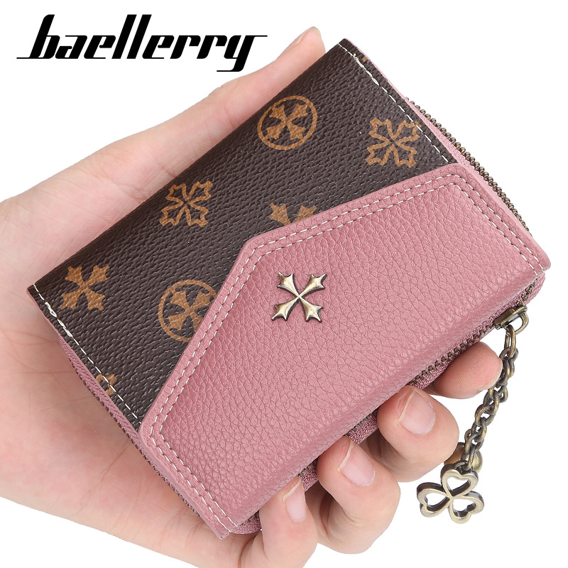 2019 Fashion Short Women Wallets Brand Sequined Top Quality PU Female Wallets Card Holder Female Purse Zipper Wallet For Girl