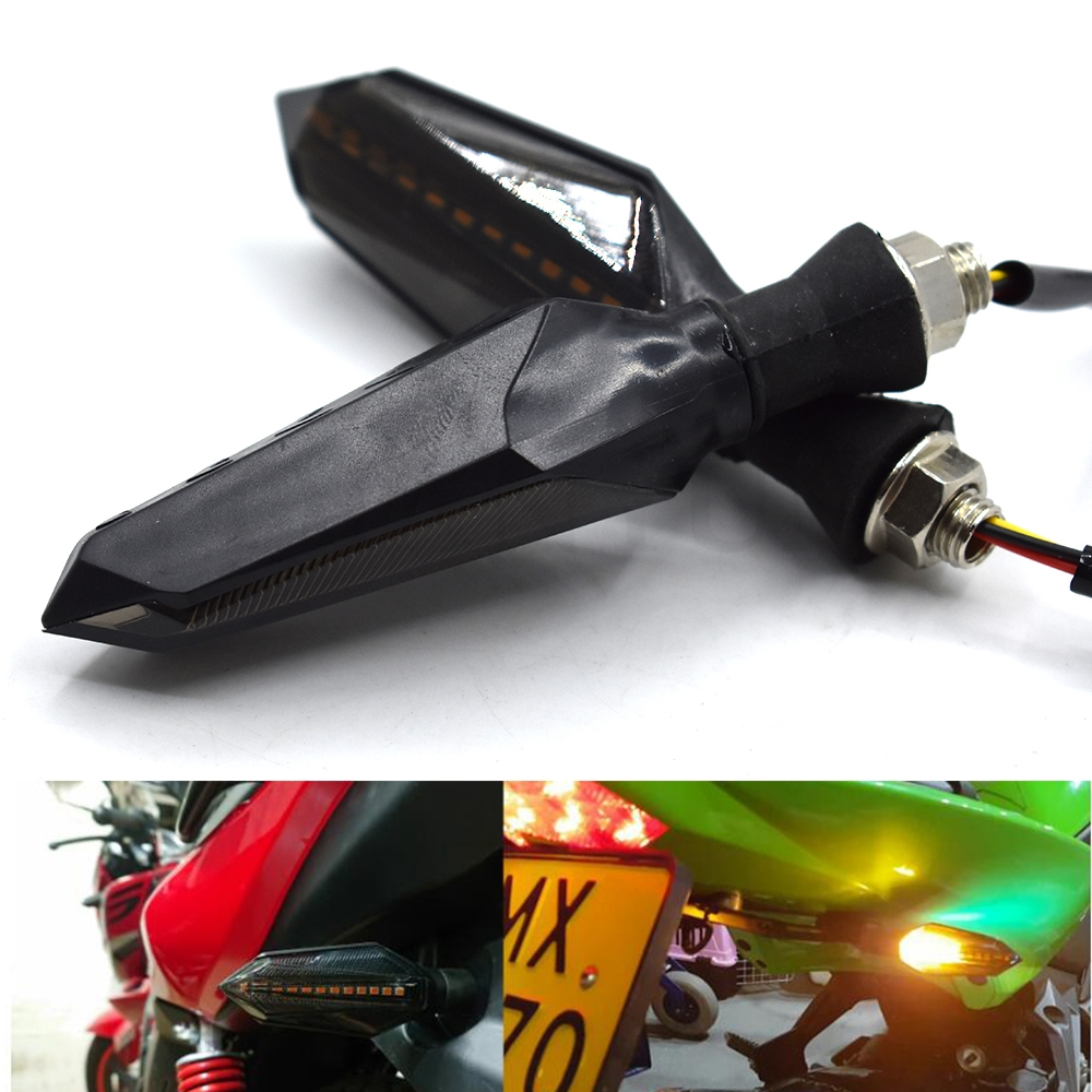 Motorcycle Signal lights 12V LED Turn Signal Flasher Warning lamp For Triumph DAYTONA 675 SPEED TRIPLE 675 STREET TRIPLE R RX|  - title=