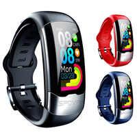 H02 EKG PPG Smart Armband HRV Herz Rate Blutdruck Monitor Smart Band Männer IP67 Wasserdichte Lauf Schwimmen Sport Armband