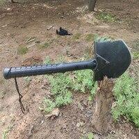 삽  삽 다목적 야외 서바이벌 자동차 삽 자기 방어  야외 제품  무료 배송 수 있습니다|self-defense product|shovel outdoorcan car -