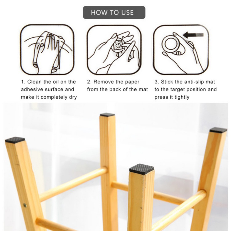 Self Adhesive Furniture Pads Table Foot Protection Pad Anti