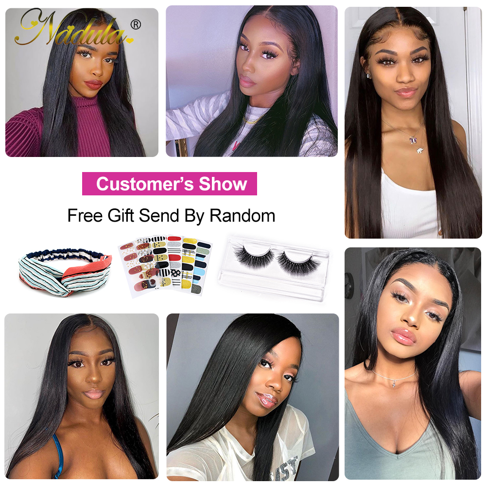 Nadula Hair Straight Lace Part  Wigs  Realistic Scalp Lace Wigs  Straight T Part Lace Wig No Knots 6