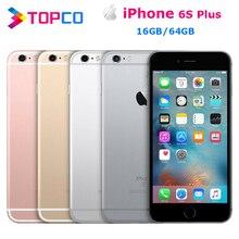 """Apple iPhone 6S Plus заводской разблокированный мобильный телефон 4G LTE 5,"""" двухъядерный A9 12MP ram 2GB rom 16 GB/64 GB сотовый телефон"""