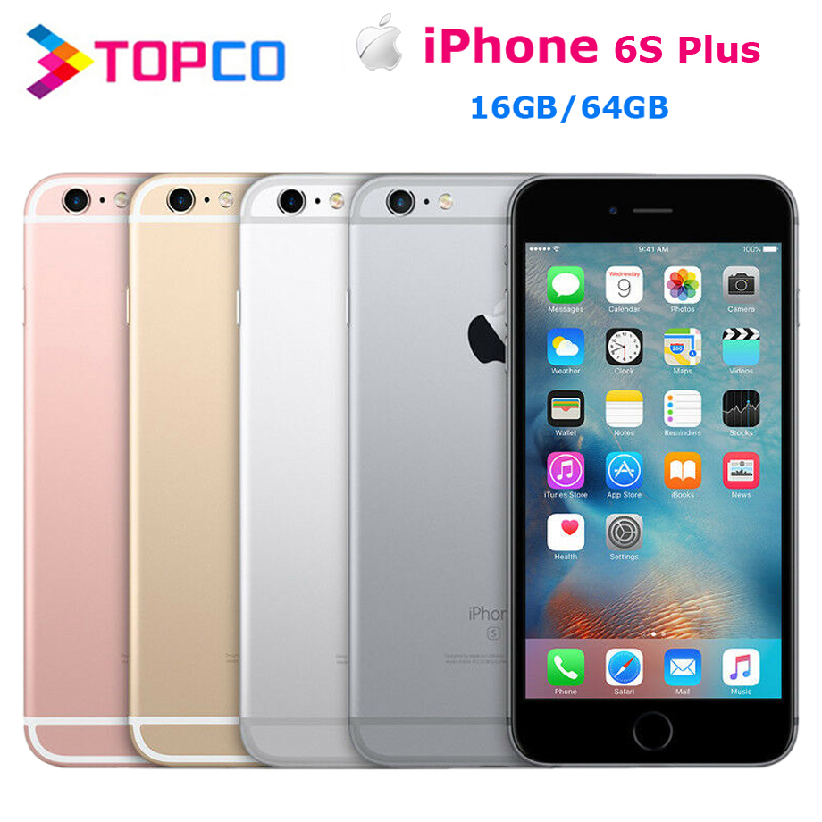 هاتف محمول Apple iPhone 6s Plus أصلي غير مقفول 4G LTE 5.5