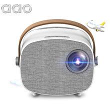 Aao Mini Projector Pk YG300 YG310 YG230 YG231for 1080P Video Beamer Draagbare Home Theater Hdmi-Compatibele Mediaspeler beste Cadeau