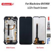 Alesser Für Blackview BV5900 LCD Display Und Touch Screen Reparatur Teile Mit Rahmen + Werkzeuge + Adhesive Für Blackview BV5900