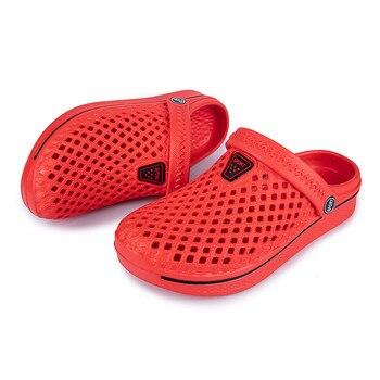 WCBOD, sandalias de verano de alta calidad para hombres y mujeres para deportes de playa, 2020, zuecos de cocodrilo para hombre y mujer, mulas de agua cruzadas
