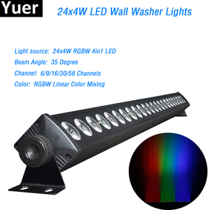24x4W LED RGBW 4IN1 Led Wall W
