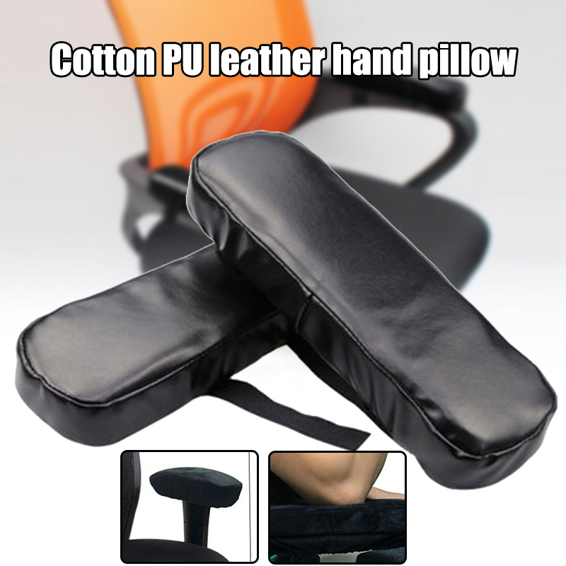 Wheelchair Armrest Cushion Cover Elbow Pain Relief Cushion  Memory Foam PU Leather Office Slow Rebound PU Leather Hand Pillow