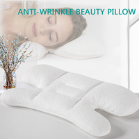 Anti Wrinkle Pillow Beauty Pillow For Sleep PE Hose Filling H shaped Orthopedic Pillows Neck Cervical Support  Cotton Pillowcase|Bedding Pillows| |  -