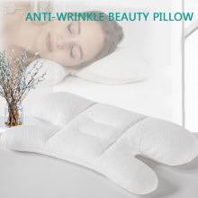 Anti Wrinkle Pillow Beauty Pillow For Sleep PE Hose Filling H-shaped Orthopedic Pillows Neck Cervical Support  Cotton Pillowcase