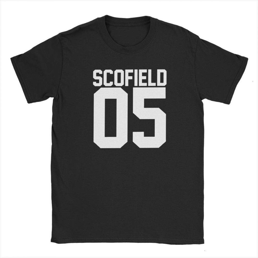 one yona Men's Michael Scofield 05 <font><b>Prison</b></font> <font><b>Break</b></font> T <font><b>Shirts</b></font> Pure Cotton Clothing Novelty Short Sleeve O Neck Tees Gift Idea T-<font><b>Shirt</b></font> image