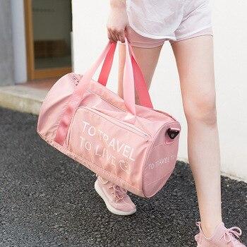 Стильные уличные водонепроницаемые нейлоновые спортивные сумки для спортзала для мужчин и женщин, для тренировок, фитнеса, путешествий, су...