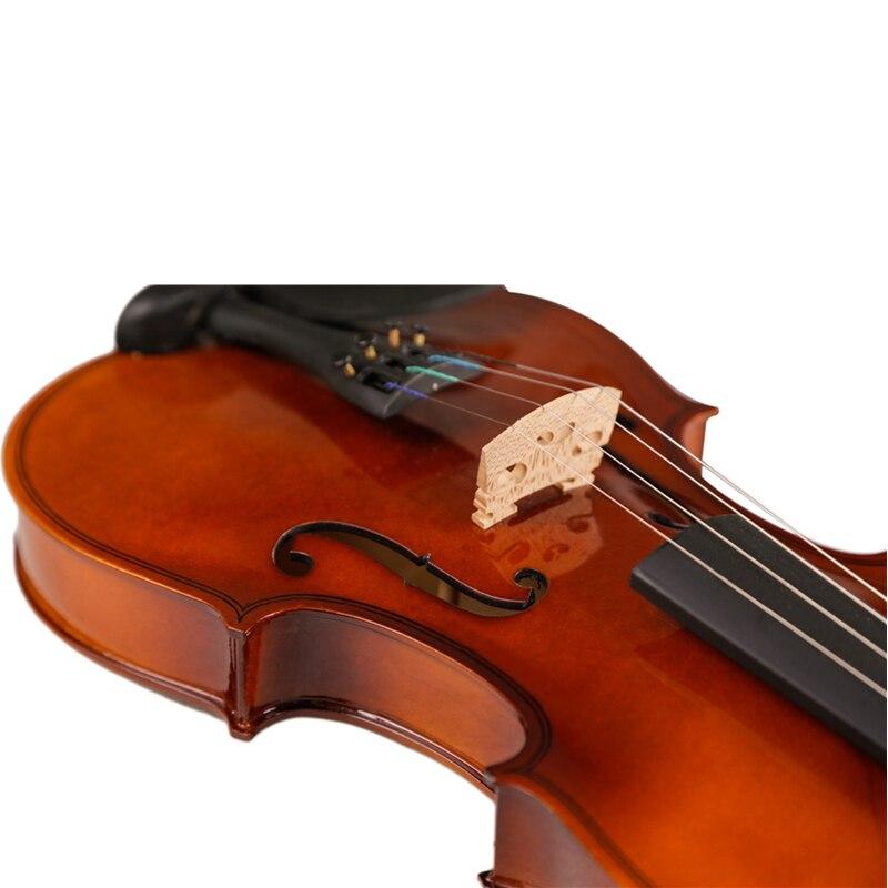 Di alta Qualità Violino Violino Strumento A Corde Giocattolo Musicale per I Bambini Principianti Violino Tiglio Corpo In Acciaio Stringa Pergolato Arco Colofonia - 3