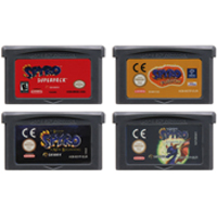 Video Game Cartridge Console Card 32 Bits SPYRO Series For Nintendo GBA image