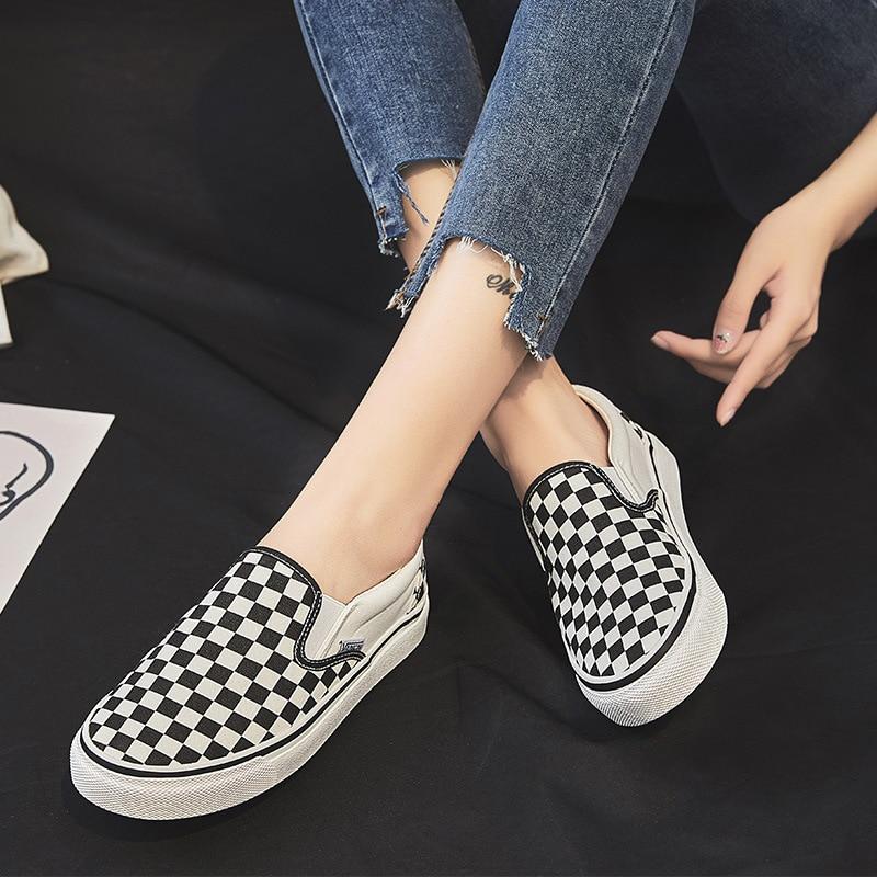 Flat shoes women sneakers Tenis feminino New Platform shoes Non-slip canvas shoes woman Flats shoes ladies Casual womens shoes