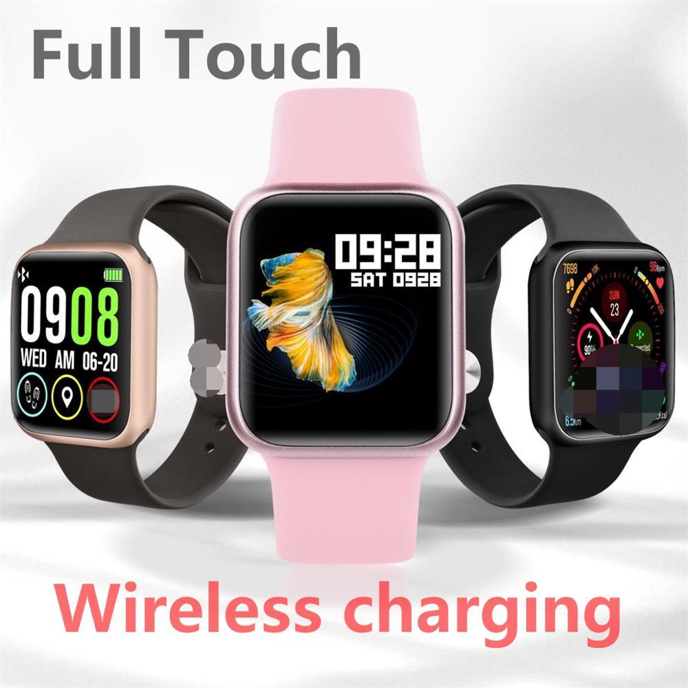 P90 montre intelligente moniteur de fréquence cardiaque Smartwatch hommes femmes pour iPhone Xiaomi Apple téléphone bande de surveillance de la fréquence cardiaque PK iwo p80 p70