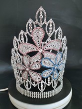 Pageant crown Hair Accessory for Women Big Crowns High Quality crystal queen crown
